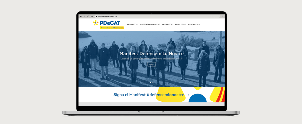 Proyecto Web PDeCat Lleida