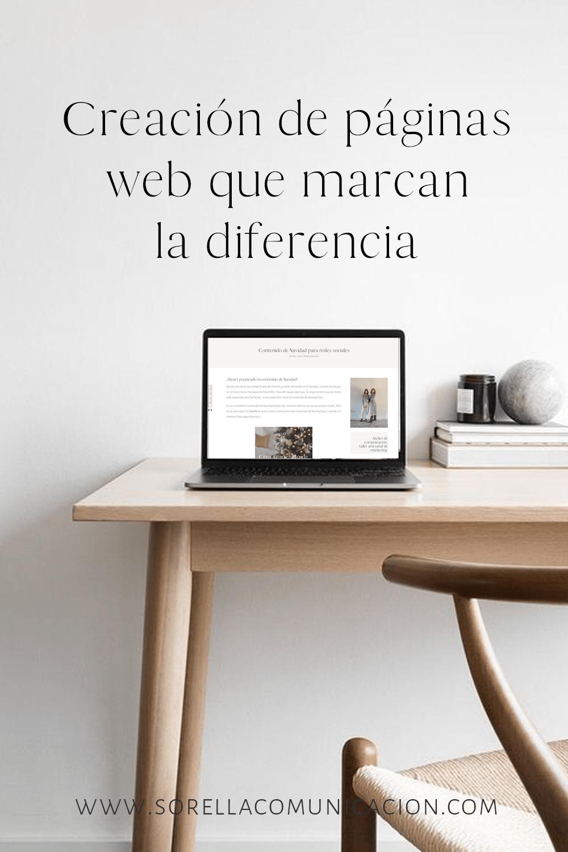 Paginas web personalizadas