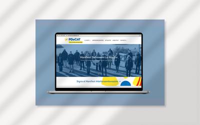 Proyecto web y formación para PDeCat de Lleida
