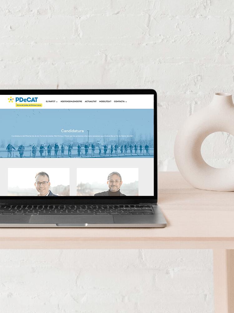 Creación páginas web corporativas